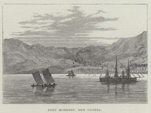 Port Moresby, New Guinea