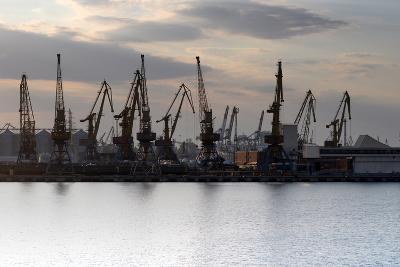 Port Odessa Ukraine-vector_master-Photographic Print