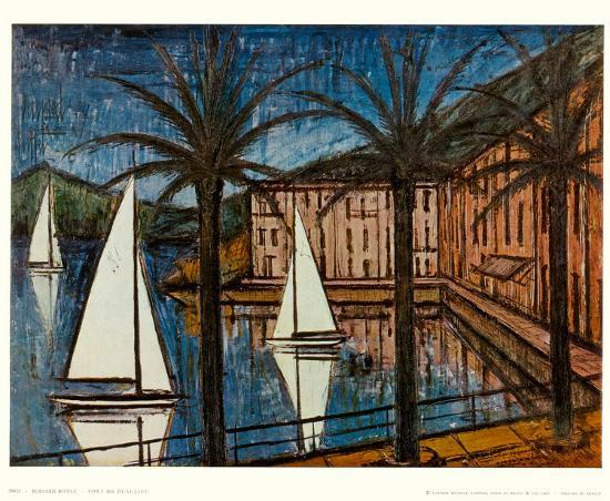 Admirable Port Of Beaulieu Art Print By Bernard Buffet Art Com Download Free Architecture Designs Scobabritishbridgeorg