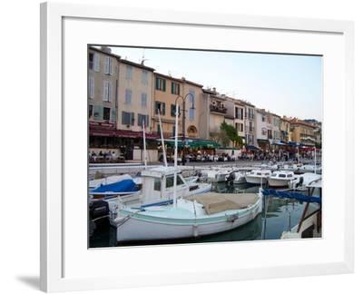 Port of Cassis, France-Marilyn Dunlap-Framed Art Print