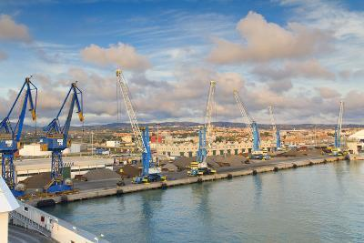 Port of Civitavecchia-lachris77-Photographic Print
