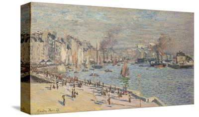 Port of Le Havre, 1874-Claude Monet-Stretched Canvas Print