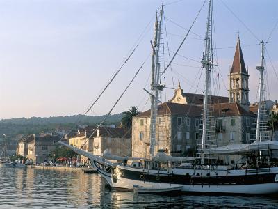Port of Milna, Ile De Brac, Dalmatian Coast, Croatia, Adriatic-Bruno Barbier-Photographic Print