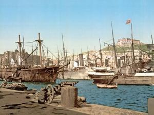 Port of Naples, Pub. C.1891