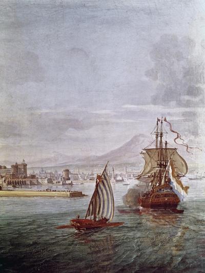 Port of Naples- Vanvitelli (Gaspar van Wittel)-Giclee Print