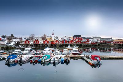 Port of Reine-Philippe Sainte-Laudy-Photographic Print