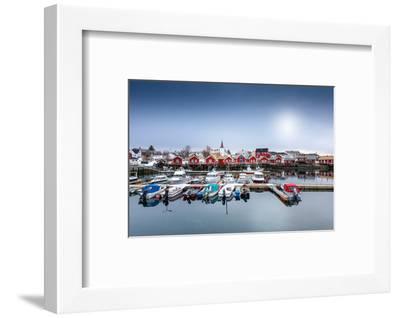 Port of Reine-Philippe Sainte-Laudy-Framed Photographic Print