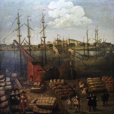 Port of Riga--Giclee Print