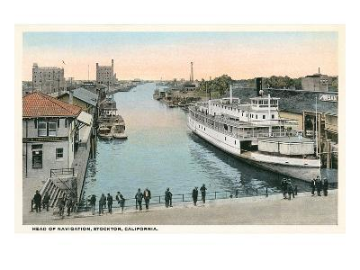 Port of Stockton, California--Art Print