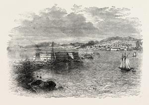 Port Pensacola, USA, 1870s