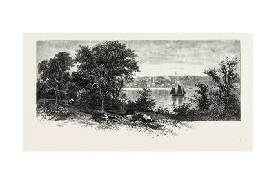Port Perry, from Scugog Island, Canada, Nineteenth Century--Giclee Print