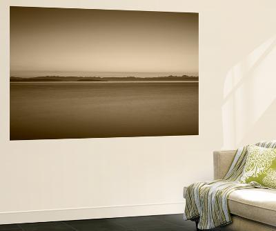 Port Townsend at Sunrise, Cascade Mountains, Juan De Fuca Strait, Washington, USA-Walter Bibikow-Wall Mural