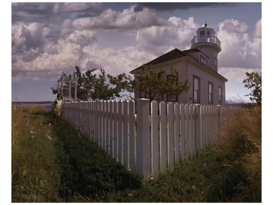 Port Townsend I-Steve Hunziker-Art Print