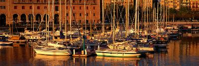 Port Vell and Catalan History Museum Barcelona Spain--Photographic Print
