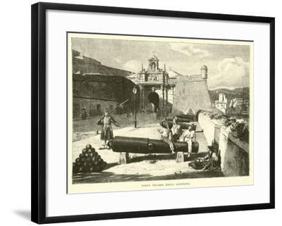 Porta Vecchia Della Lanterna--Framed Giclee Print