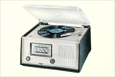 Portable Record Player--Art Print
