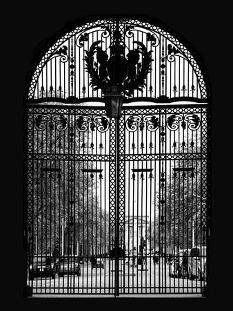 Portal Admiralty Arch - Buckingham Palace and The Mall View - London - England - United Kingdom-Philippe Hugonnard-Framed Photographic Print