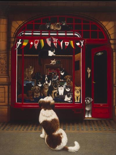 Portal Pet Show, 1993-Frances Broomfield-Giclee Print