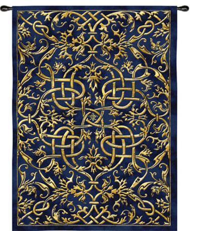 Porte Azur--Wall Tapestry