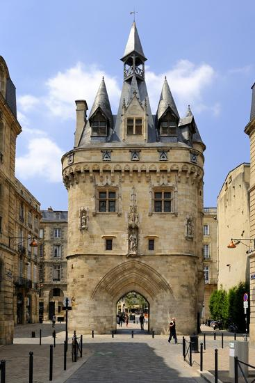 Porte Cailhau, Bordeaux, UNESCO World Heritage Site, Gironde, Aquitaine, France, Europe-Peter Richardson-Photographic Print