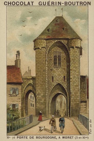 Porte De Bourgogne, a Moret, Seine-Et-Marne--Giclee Print