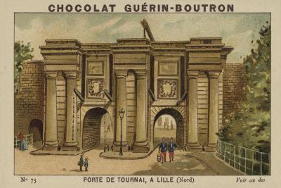 Porte De Tournai, a Lille, Nord--Giclee Print