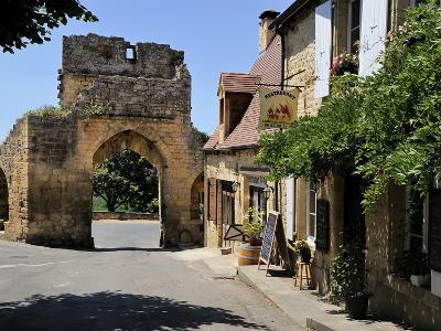 Porte Del Bos, Bastide Town, Domme, Les Plus Beaux Villages De France, Dordogne, France, Europe-Peter Richardson-Photographic Print