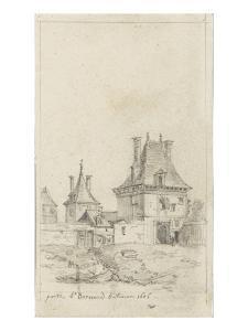 Porte Saint-Bernard bâtie en 1606