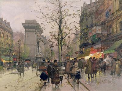 Porte St. Denis, Paris-Eugene Galien-Laloue-Giclee Print