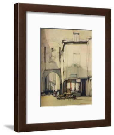 'Porte St Pater, Vannes', c20th century (1935)-Harry Tittensor-Framed Giclee Print
