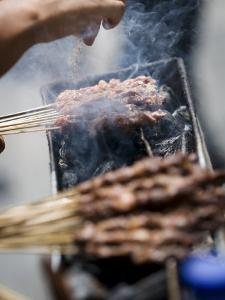 Adding Spice to the Barbeque, Kunming, Yunnan, China by Porteous Rod