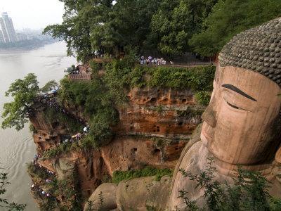 Giant Buddha, UNESCO World Heritage Site, Leshan, Sichuan, China