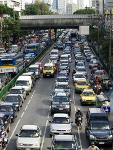 Traffic, Bangkok, Thailand, Southeast Asia by Porteous Rod
