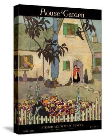 House & Garden Cover - April 1917