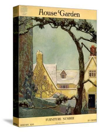 House & Garden Cover - January 1918