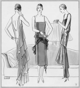 Vogue - August 1929 by Porter Woodruff