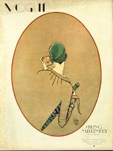 Vogue Cover - March 1926 by Porter Woodruff