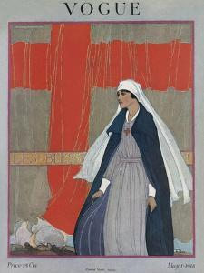 Vogue Cover - May 1918 by Porter Woodruff
