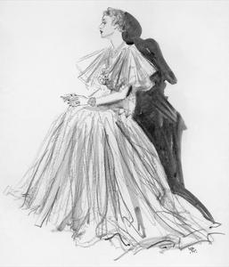 Vogue - December 1936 by Porter Woodruff