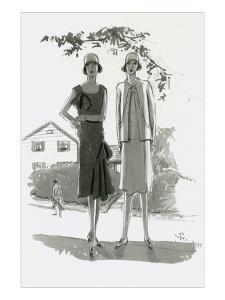 Vogue - July 1929 by Porter Woodruff