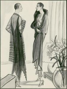 Vogue - May 1929 by Porter Woodruff