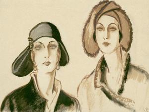 Vogue - November 1929 by Porter Woodruff