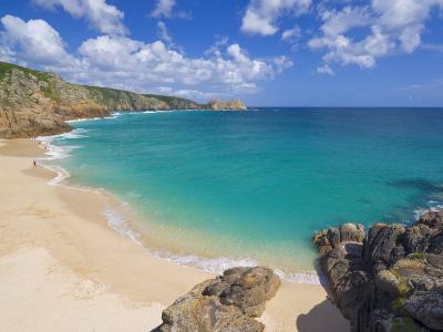 Porthcurno Beach, Cornwall, England, United Kingdom, Europe-Neale Clark-Photographic Print