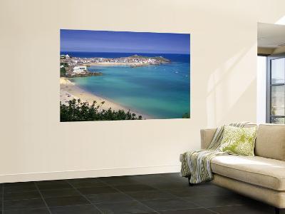 Porthminster Beach, St. Ives, Cornwal, England-Gavin Hellier-Wall Mural