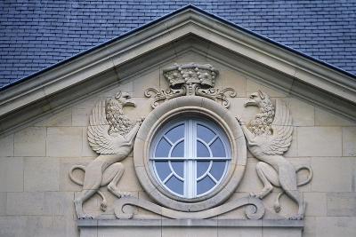 Porthole with Rampant Lions, Louvois Castle--Giclee Print
