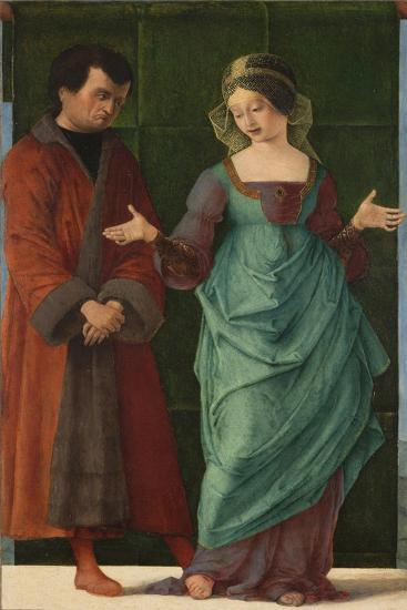 Portia and Brutus-Ercole de' Roberti-Giclee Print