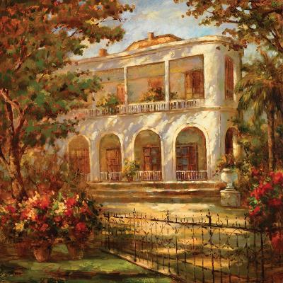 Portico at Sunset-Enrique Bolo-Art Print