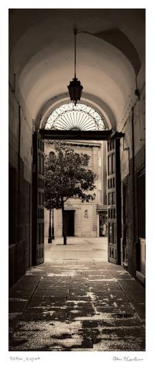 Portico, Espana-Alan Blaustein-Art Print