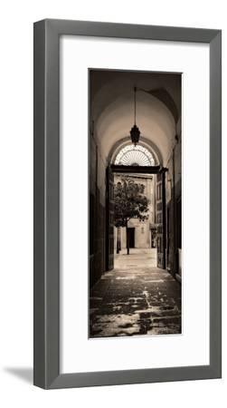 Portico, Espana-Alan Blaustein-Framed Art Print