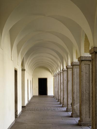 Portico of Ground Floor, Brixen Palace, Trentino-Alto Adige, Italy, 16th Century--Giclee Print